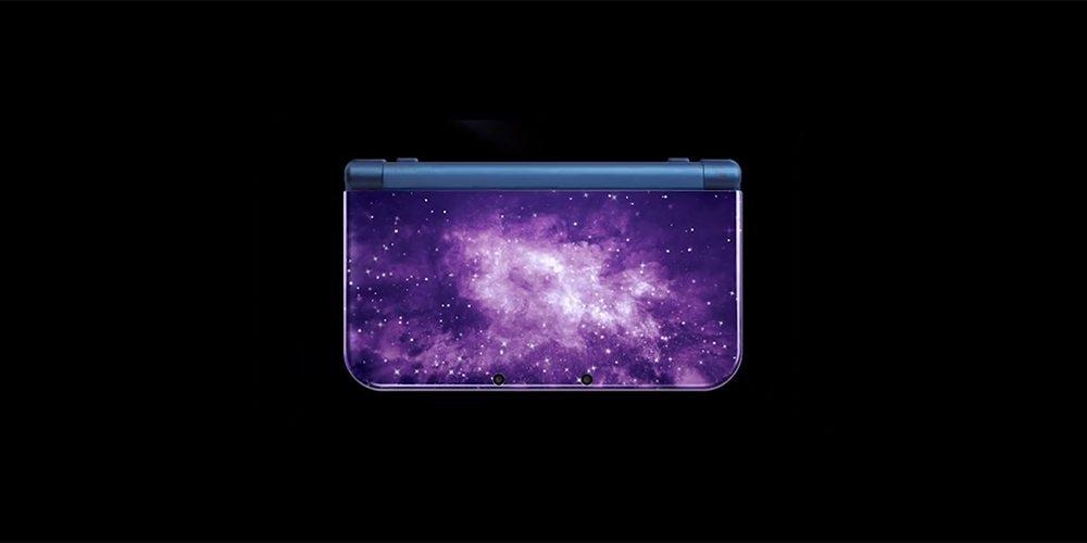 galaxy blue new 3ds xl
