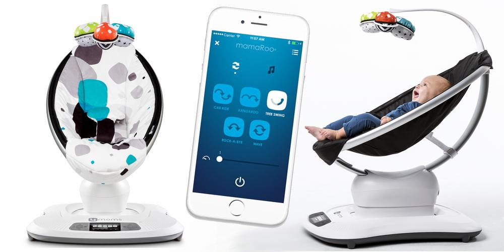 Swaying With MamaRoo, The App Controlled Infant Seat