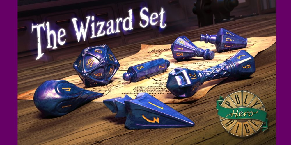 Kickstart These Wizard Dice