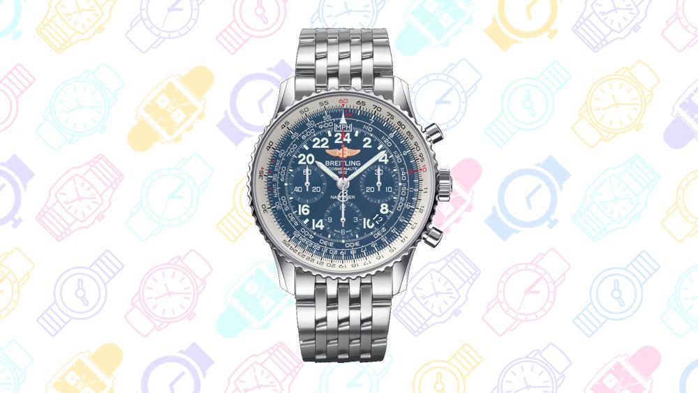 13 relojes Geeky: Navitimer Cosmonaute