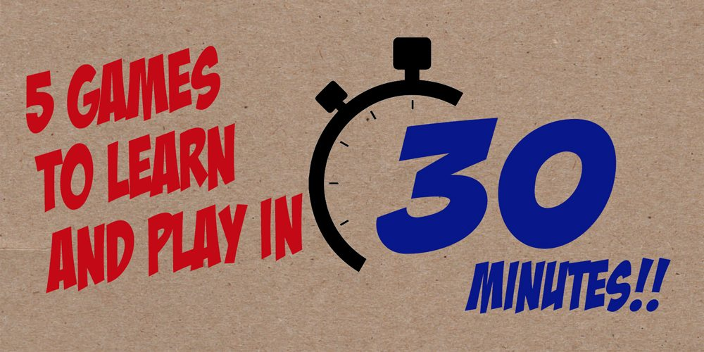 5 Family-Friendly Games You Can Learn and Play in Under 30 Minutes