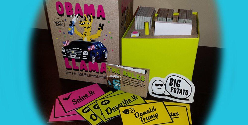 'Obama Llama' from Big Potato Games. Photo Copyright: Preston Burt