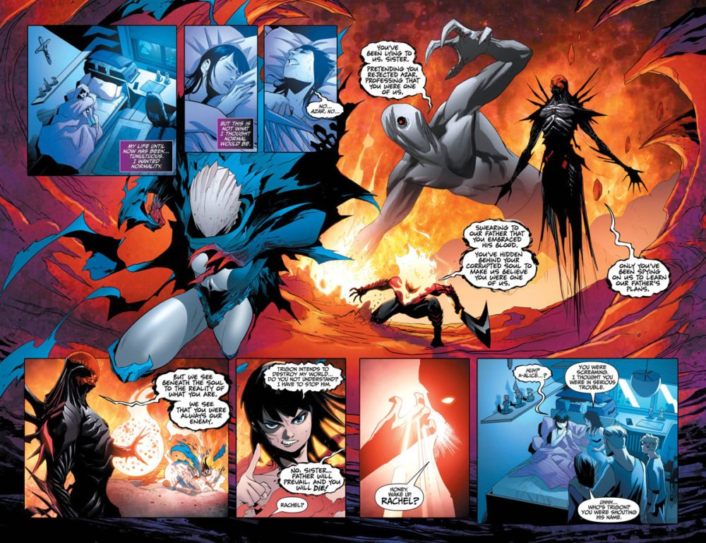 Raven #1 pages