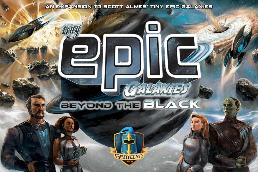 Tiny Epic Galaxies: Beyond the Black cover