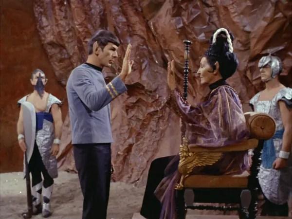 a screen cap of Star Trek: Amok Time
