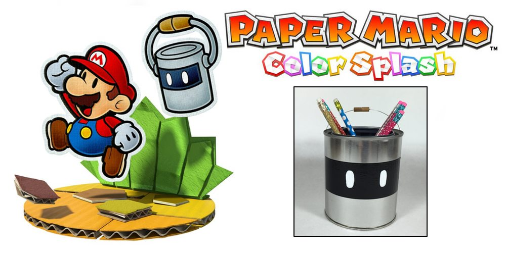 Make a Splash (and a Craft!) With 'Paper Mario: Color Splash'
