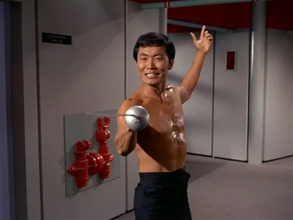 screen cap from Star Trek: The Naked Time