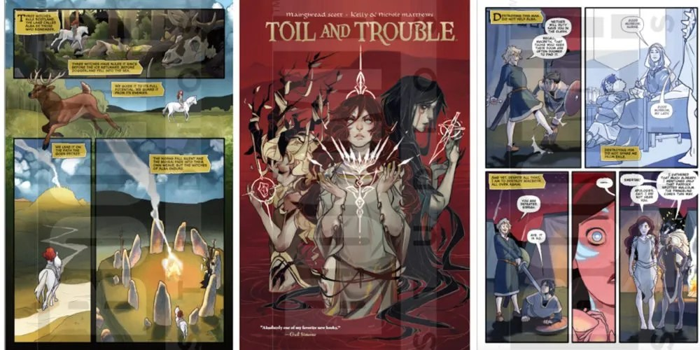 Screenshots: Archaia publishers