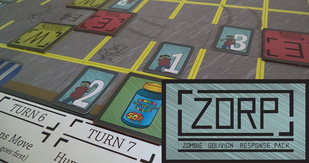 Kickstarter Alert: Strategic Zombie Mayhem With 'ZORP'