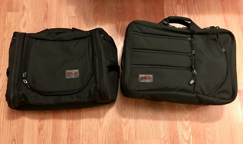 Aeronaut 30 on the left and the Tri-Star on the right (Photo by Skip Owens)