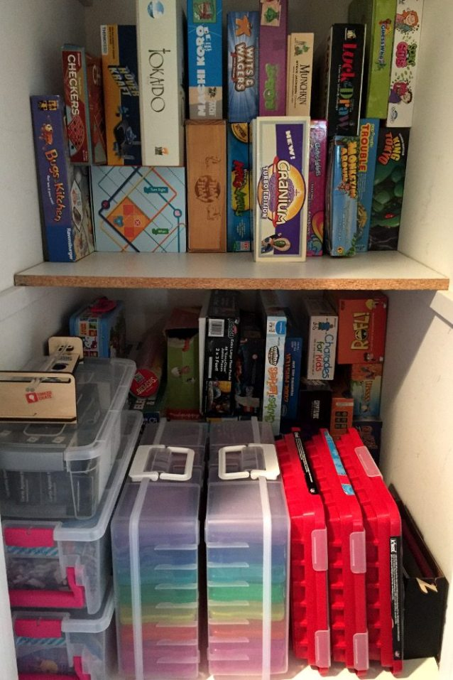 How to Organize Your Game Closet Like a Boss - GeekMom