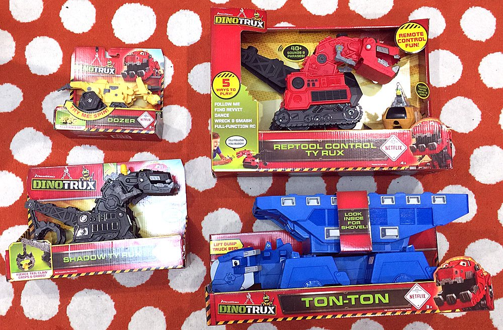 'DinoTrux' Toys Giveaway