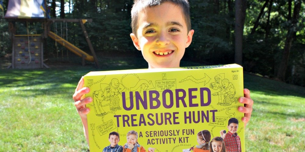'Unbored Treasure Hunt' Sparks Imagination and Creativity