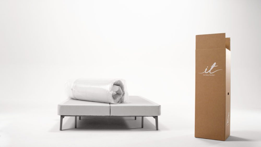 NOT your typical bed-in-a-box. Source: itBed.