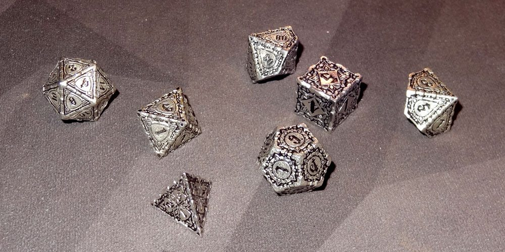 Pathfinder Metal Dice