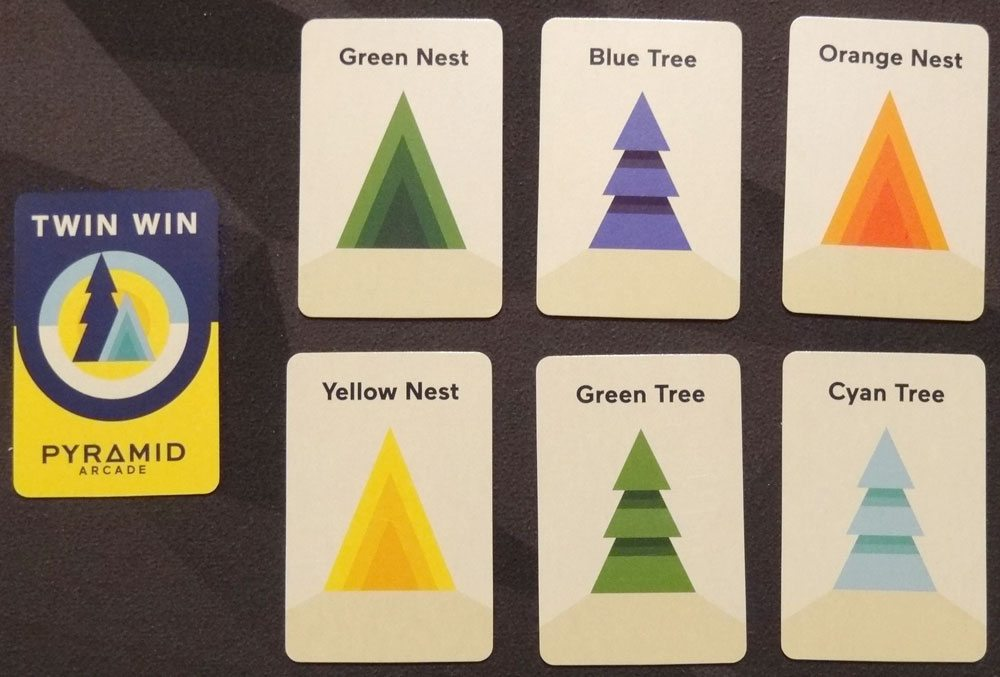 Pyramid Arcade Twin Win cards