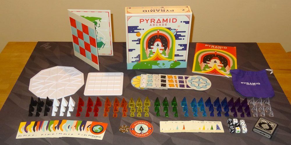 Pyramid Arcade components