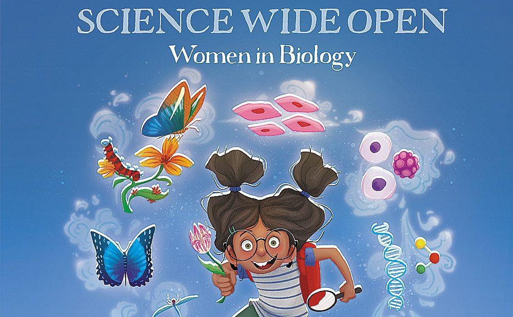 Kickstarter Alert: 'Science Wide Open' Kids' Science Books About Women