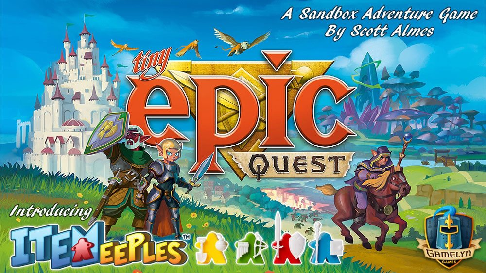 Kickstarter Tabletop Alert: 'Tiny Epic Quest'