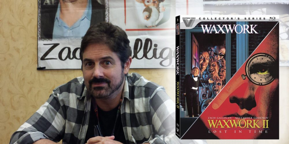Zach Galligan speaks about Waxwork and Waxwork II: Lost in Time Blu-ray release at Monsterama 2016
