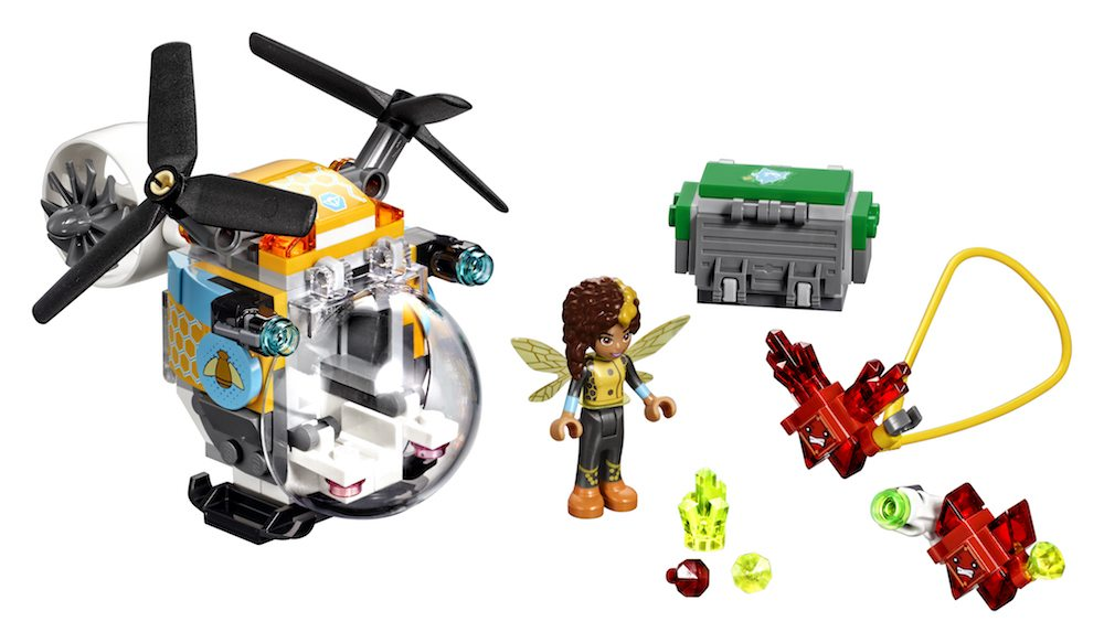 LEGO and 'DC Super Hero Girls' Team Up for Super New Sets This January