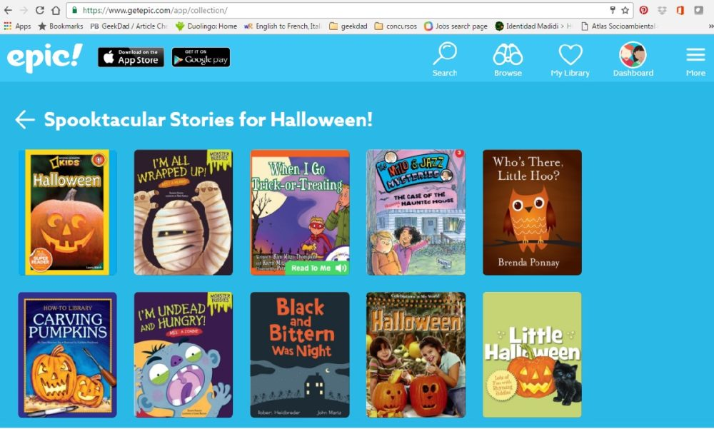 Epic! An Online Library for Your Kids and for You