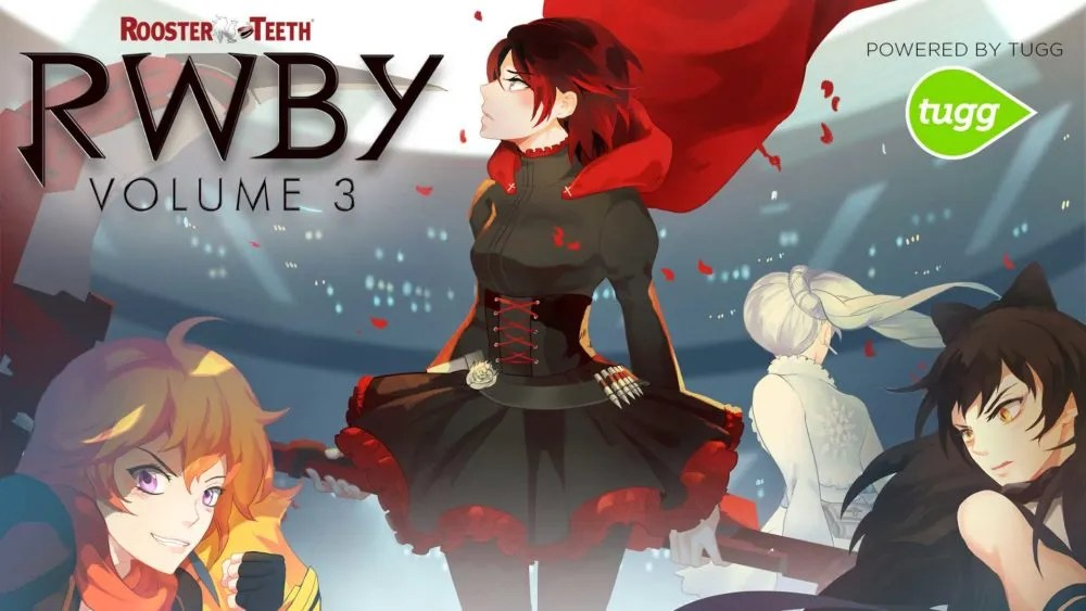 RWBY Volume 3 in Theaters.