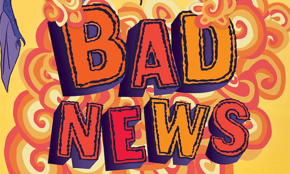 Exclusive Cover Reveal and Excerpt: 'Bad News' by Pseudonymous Bosch