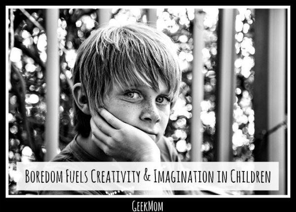 Boredom fuels creativity and imagination in children