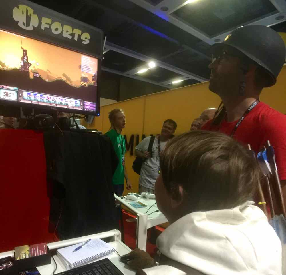 Forts at PAX West