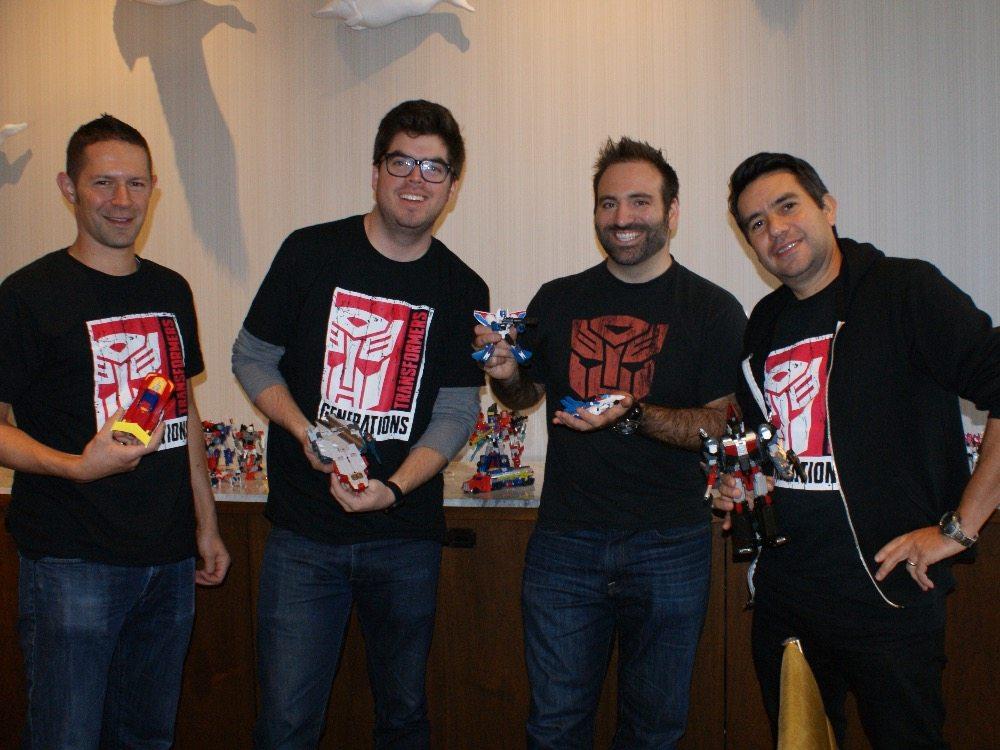 Transformers Design Team: More Than Meets the Eye