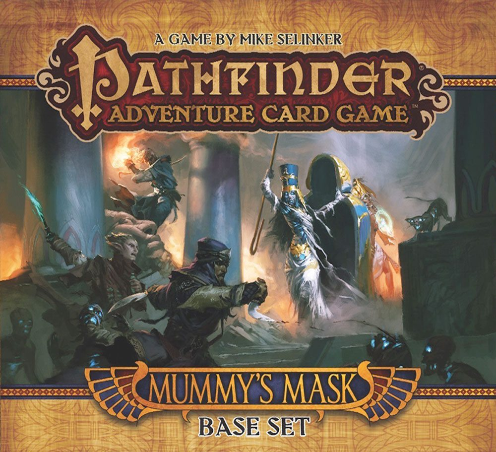 Getting Started With Pathfinder Adventure Card Game Mummy S Mask