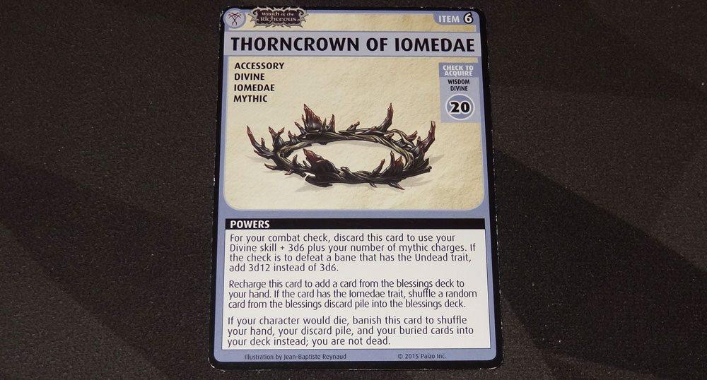 PACG Thorncrown of Iomedae