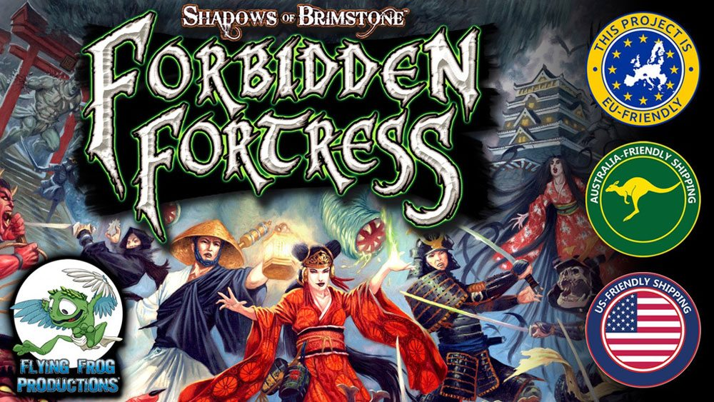 Kickstarter Tabletop Alert: 'Shadows of Brimstone: Forbidden Fortress'