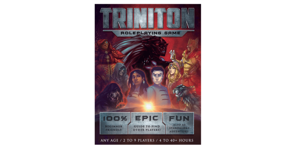 'Triniton': Your Easy Introduction to Tabletop RPGs (Sponsored+Giveaway)