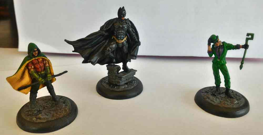 GeekDad Paints! Knight Models' DC Heroes