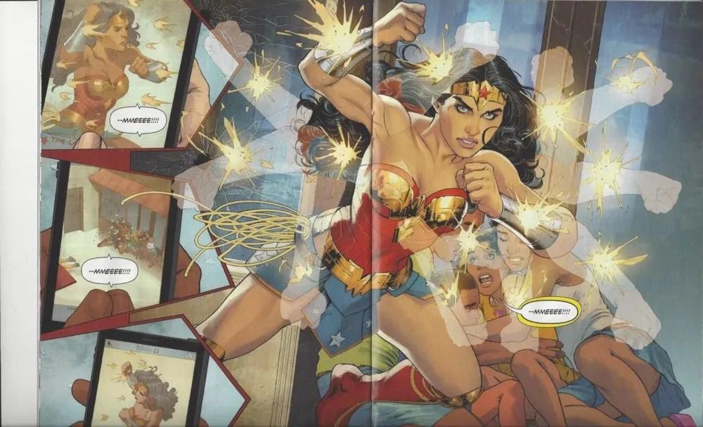 Wonder Woman #11, art by Nicola Scott