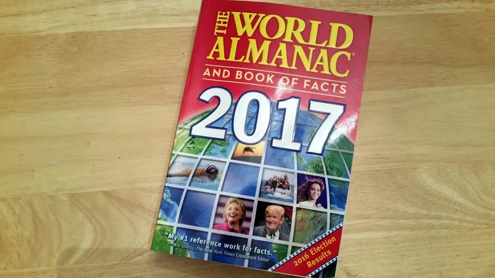 World Almanac 2017