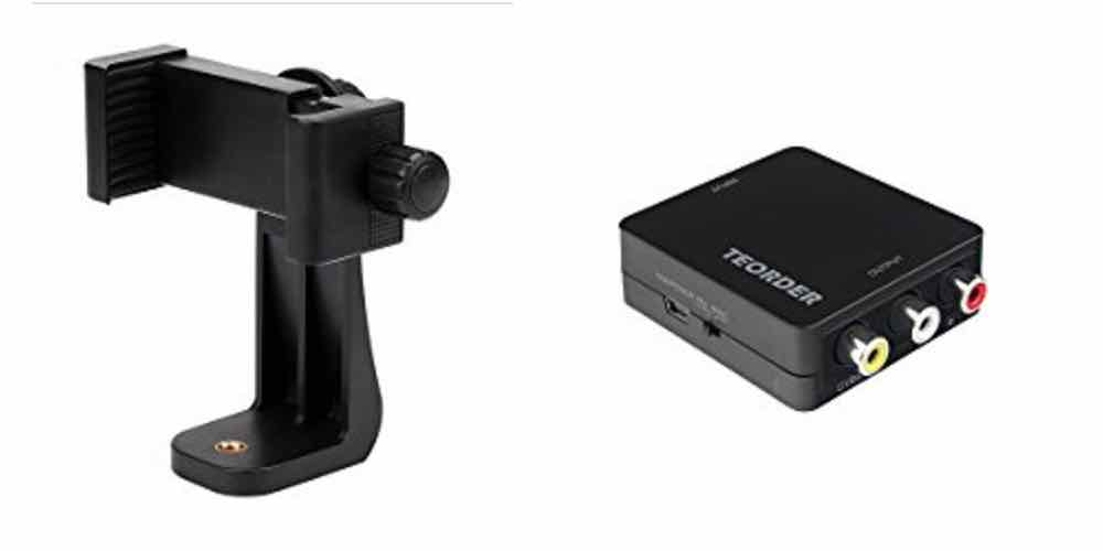Save Big on a Smartphone Tripod Mount, HDMI to RCA/Composite Converter – Daily Deals!