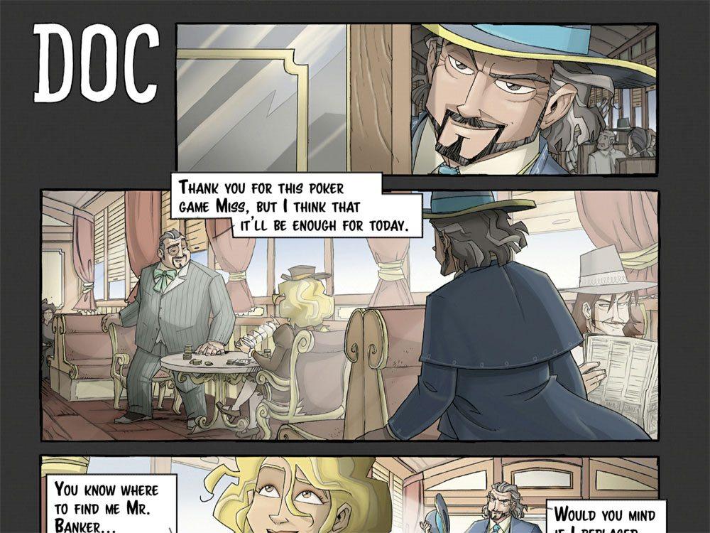 Colt Express Doc comic