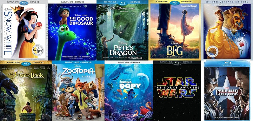 End 2016 on a High Note with GeekDad's Massive Disney Giveaway