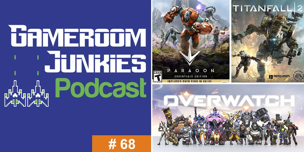 Gameroom Junkies Podcast #68: The 10 Best Video Games of 2016
