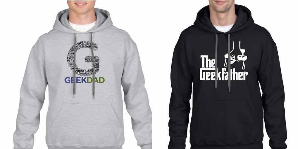 Hoodies Added to the GeekDad/GeekMom Merch Store!