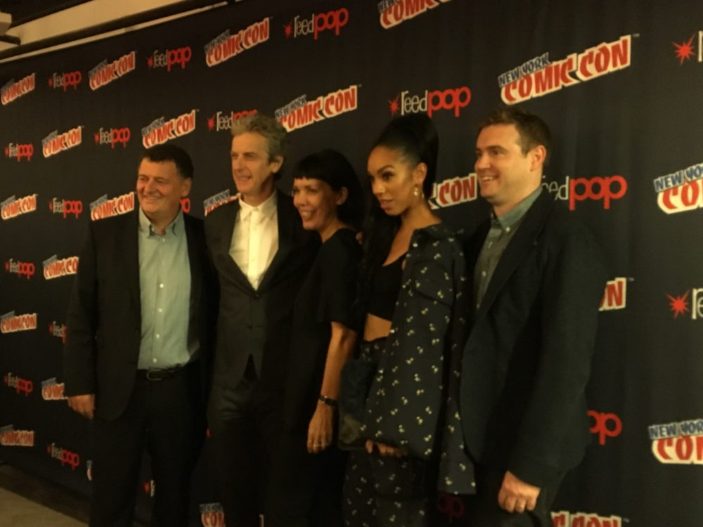 Capaldi, Mackie, and Moffat Discuss Inclusion and Inspiration