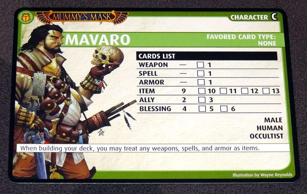 PACG Mavaro card list