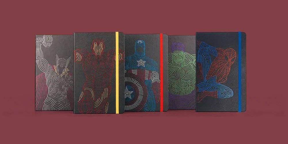 Moleskine Avengers