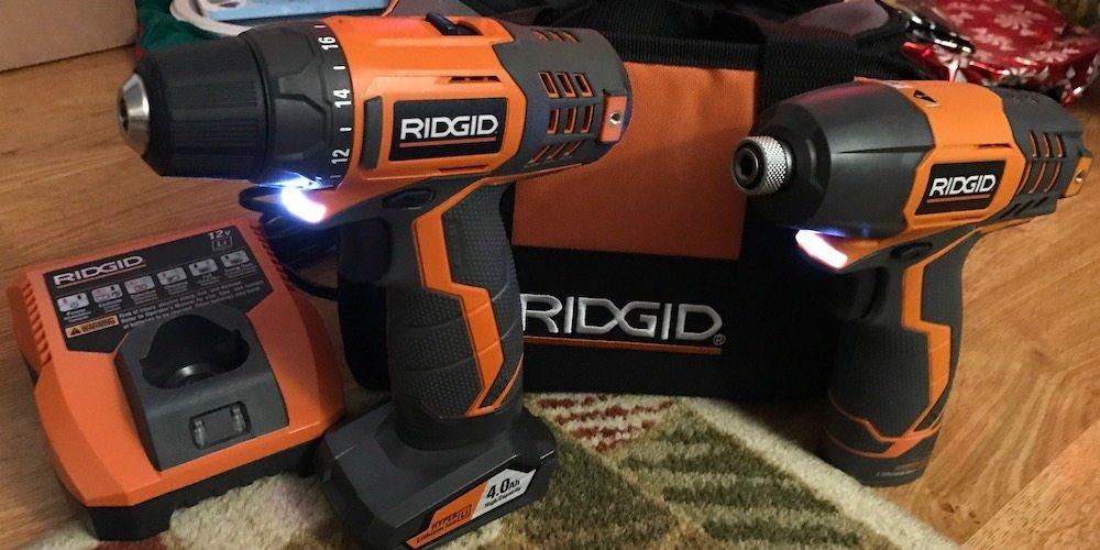 Last Minute Santa Saver – Ridgid 12-Volt 2-Speed Drill/Impact Driver Combo