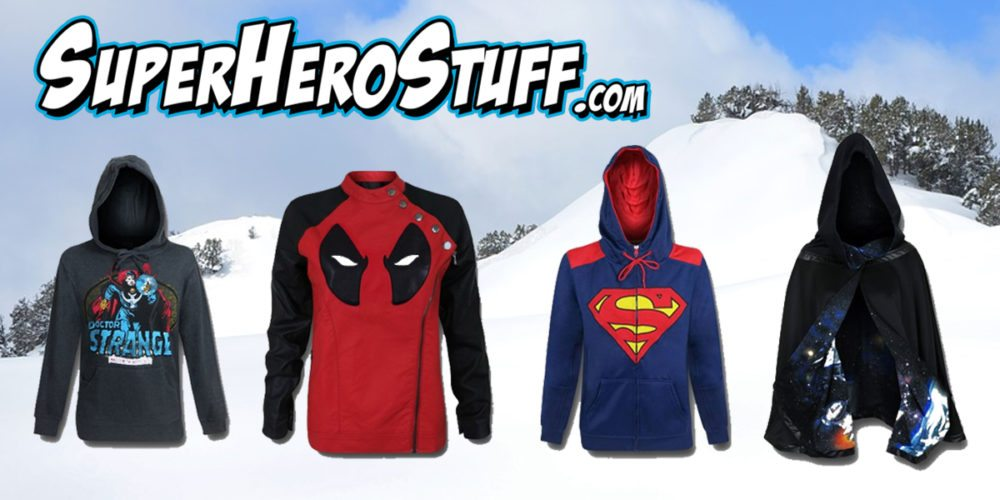 SuperHero Winter Gear  Images SuperHeroStuff.com