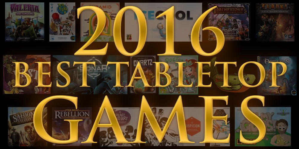 Best Tabletop Games of 2016