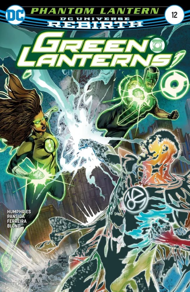 Who's the real hero? Green Lanterns #12, image via DC Comics